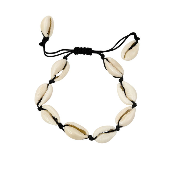 Kauri Seashell Braided Bracelet